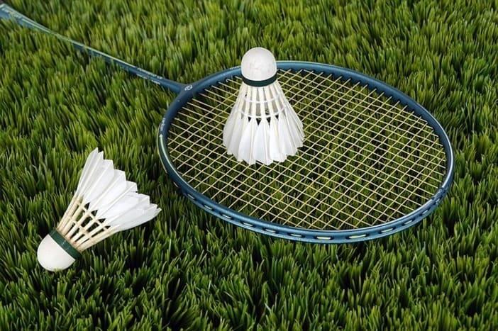 Raquette et volant de Badminton de sport